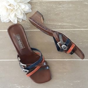 "Brighton ""Angie"" Leather Strappy Sandals"